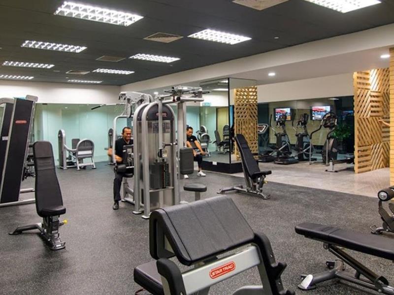 Hilton kuching gym