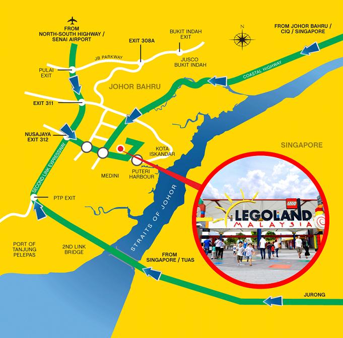 Legoland Hotel Located in Johor Bahru Malaysia