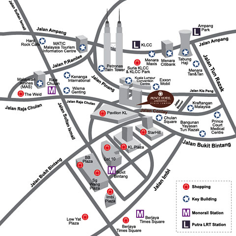 Location Map - on