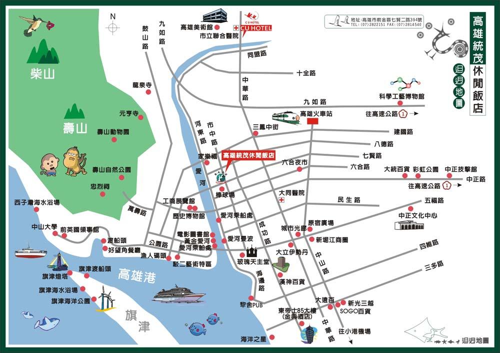 Toong mao hotel kaohsiung kaohsiung in taiwan toong mao hotel kaohsiung location map sciox Images